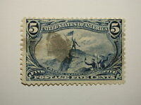 US Stamps – #288  5 Cent Trans-Mississippi Expo Issue 1898 used