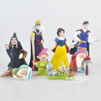 cute Snow White princess prince figure PVC figures set of 8PCS doll
