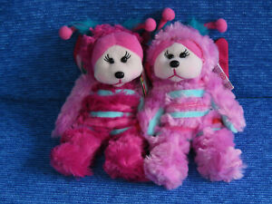 BEANIE KIDS - DAINTY THE BUTTERFLY BEAR BK2-031 COMMON UNCOMMON PINK MUTATION
