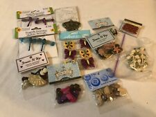 Large Lot Dress It Up, Sewology Buttons & Ribbon Roses and Other Accessories