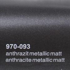 15 /m² Oracal 970ra Anthrazit Grau matt Metallic 093 Autofolie Gegossen Folie