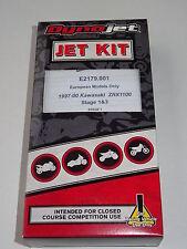 DYNOJET Carburateur-Kit Stage 1 + 3 KAWASAKI ZRX 1100 1997 - 2000 articles de course