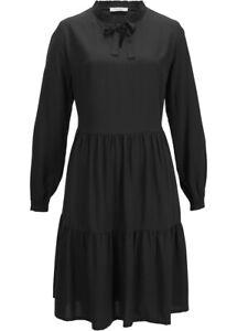 Kleid Damenkleid Stiefelkleid Winterkleid A-Linie Oversize Rüschen 38 #210