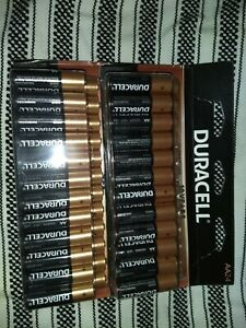 Duracell Batteries NEW AA 24 Lot of 2 packs - 48 total AA batteries! NIB $10Ship