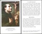 HOLY CARD SANTINO IMAGE PIEUSE - S. FILIPPO BENIZI - dei servi di Maria