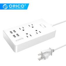 ORICO Smart Charging Desktop Surge Protector Power Strip 4 AC Outlets+4 USB Port
