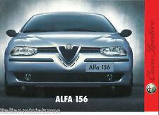 ALFA ROMEO 156 T. SPARK CORR. sportivio opuscolo 1997 OTTIME CONDIZIONI A4