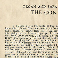 1 CENT CD The Con - Tegan and Sara