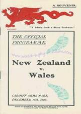 WALES v NEW ZEALAND ALL BLACKS 1905 RUGBY POSTCARD SET - 20 CARDS