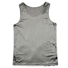 OurSure Anti-Radiation Protect Unisex Tank T-Shirt RF Shield Silver L 8900690