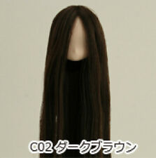 Obitsu Doll 11cm hair implantation head for Whity body (11HD-D01WC02) D BRN