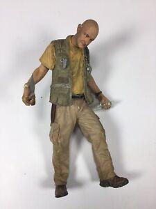 LOST John Locke McFarlane Action Figure Scene w Loose w Accessories, no Hatch