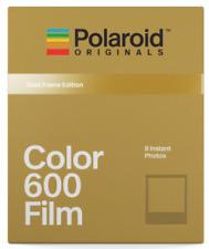*SALE* Polaroid Originals Color Film for 600 GOLD FRAME edition