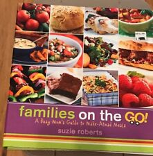 Families on the Go! Cookbook by Suzie Roberts EUC