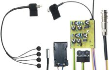 K&K Sound Trinity Classic Onboard 4 Sensor Nylon Guitar Pickup System w/Mic, NEW