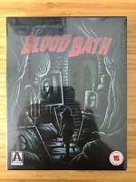 BLOOD BATH Arrow Video Limited Edition Bluray Region A & B 2-Disc OOS/OOP