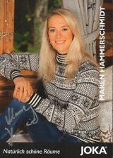 Autogramm - Maren Hammerschmidt (Biathlon)