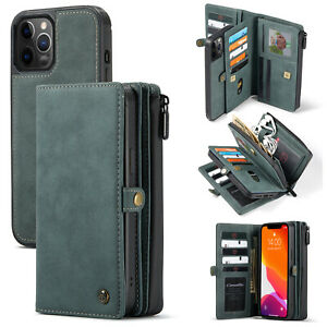 Magnetic Leather Removable Wallet Stand Cases for Samsung Galaxy A51 A71 A52 A72