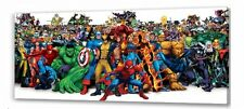 Marvel Super Heroes  long  canvas picture I