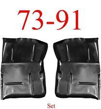 73 91 Chevy Blazer Extended Floor Pan Set, GMC Jimmy Suburban 0850-221, 0850-222