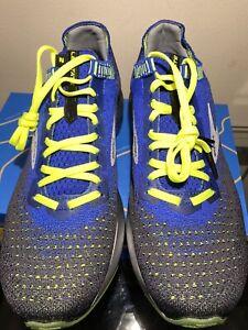 Brooks Levitate 2 Mens Size 10.5 Running Shoes Black/Blue/Nightlife NIB Unworn