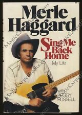 Inscribed MERLE HAGGARD Sing Me Back Home SINGER Songwriter COUNTRY MUSIC 1st Ed