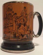 "Vintage Arthur Wood ""Ye Olde Coaching & Hunting Days"" Tankard Stein Mug England"