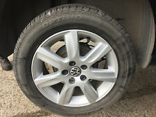 VW POLO 2010 - 2014 185/60/15R ALLOY WHEEL AND GOOD TYRE