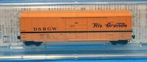 Z - MICRO-TRAINS LINE 511 00 291 DENVER RIO GRANDE WESTERN 50' Rib Side Box Car