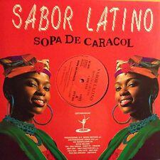 SABOR LATINO • SOPA De Caracol  • Vinile 12 Mix • 1992 DISCO+