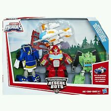 Playskool Heroes Transformateurs Rescue Bots Griffin Rock RESCUE TEAM-Ensemble Cadeau