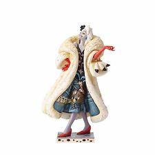 Jim Shore Disney Traditions Devilish Dognapper Cruella De Vil with Scene 4055440