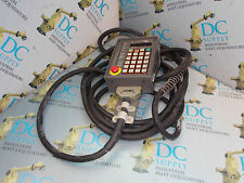 FUJITSU FANUC LTD A05B-2001-C121 OPERATOR PANEL W/ CABLE * BROKEN CONNECTOR *
