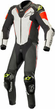 Alpinestars ATEM v3 1-Piece Leather Suit (Black/White/Red/Yellow) US 44/EU 54