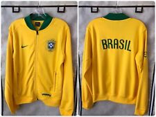 Brazil 2006/08 International Soccer Track Jacket Nike Medium