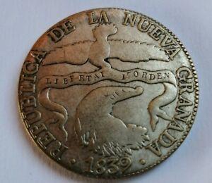 8 REALES Kolumbien 1839