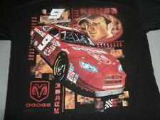 Vintage NASCAR #9 Dodge Kasey Kayne  size L  T Shirt
