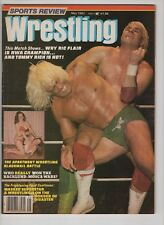 Sports Review Wrestling  May 1982 Tommy Rich Ric Flair Backlund Mosca