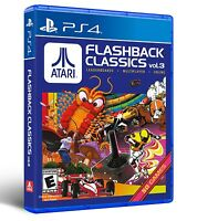 PLAYSTATION 4 PS4 GAME ATARI FLASHBACK CLASSICS VOLUME 3 BRAND NEW SEALED