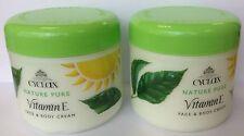 2 X cyclax Nature Pure Vitamin E Face & Body Cream 300ml Multi Buy