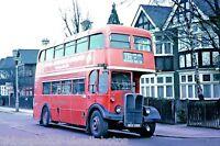 London Transport RLH60 MXX260 6x4 Bus Photo Ref L189