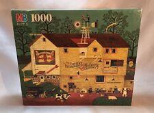 "MB 1000 Pc. Jigsaw Puzzle Charles Wysocki's ""Veterinary Surgeon"" Sealed"