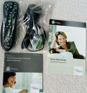 RC IR VISTABLASTER FERNBEDIENUNG - FUJITSU SIEMENS SCALEO P Home PC Remote - NEU