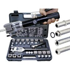 Mastercool Universal Hydraulic Flaring Tool Set & Mini Tube Cutter - 71475PRC
