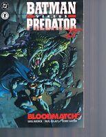Batman VS Predator II : Bloodmatch by Paul Gulacy & Doug Moench TPB 1995 OOP