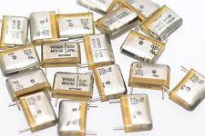 5x Funkentstörkondensator von Wima Typ MP3-X2, 0.01 µF / 275 VDC, NOS
