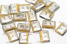 10x Funkentstörkondensator v. Wima Typ MP3-X2, 0.01 µF / 275 VDC, Capacitor, NOS
