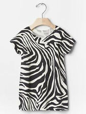 Baby Gap NWT Gray White Zebra Print Lightweight Sweater Dress 6-12 months $40