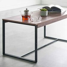 VonHaus Rustic Coffee Table Modern Industrial Urban Design Living Room Furniture