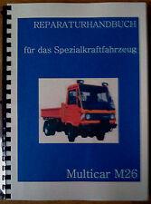 Reparaturhandbuch Multicar 26 Reparaturanleitung M26 M25 IFA W50 L60 Robur
